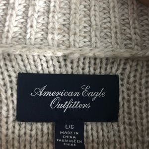 American Eagle Outfitters Sweaters - American Eagle • Oatmeal Warm Thick Cardigan